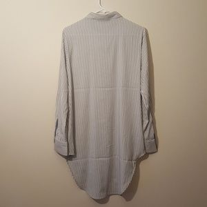 Philosophy Tops - Striped Shirt Blouse